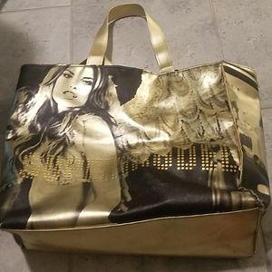 Victoria's secret supermodel tote bag